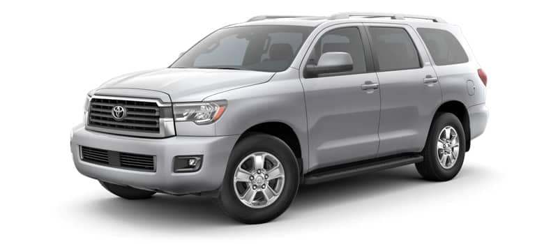 toyota sequoia model image
